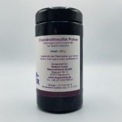 Seitenansicht Chondroitinsulfat Pulver