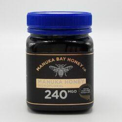 Dose mit 250g Manuka-Honig MGO 240