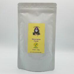 Paket mit 125g Weizengras Pulver