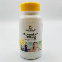 Dose mit 100 Tabletten Bromelain 500mg