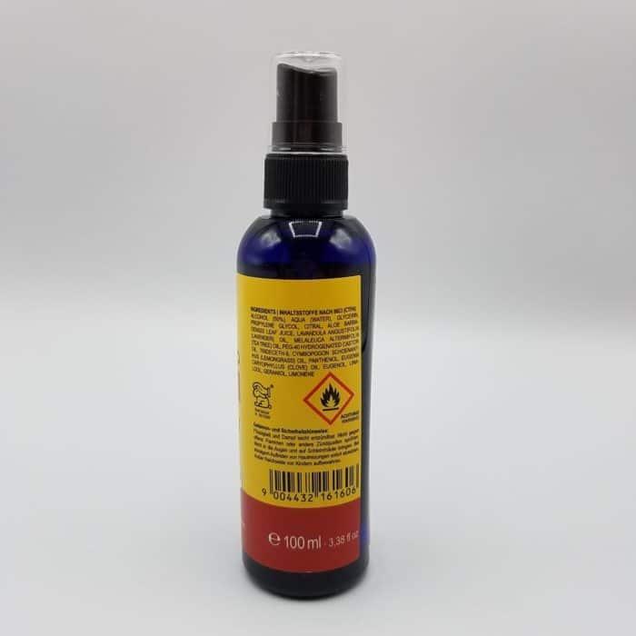 Seitenansicht Moskito Stop Spray