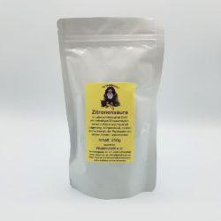 Beutel mit 250g Zitronensäure
