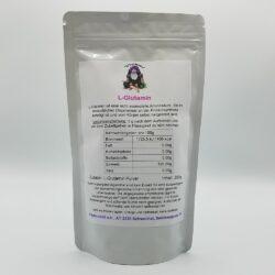 Paket mit 250g L-Glutamin Pulver
