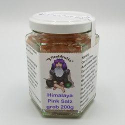 Glas mit 200g Himalaya Salz grob