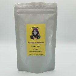 Beutel mit 100g Knoblauchpulver