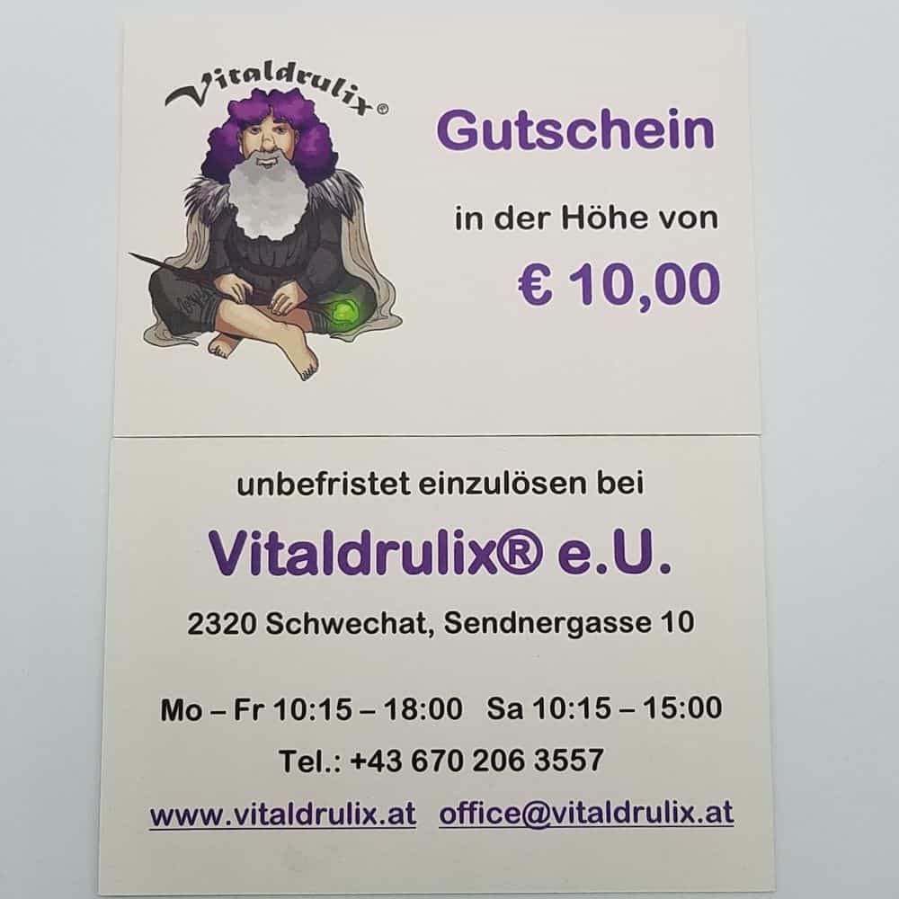 Gutschein von Vitaldrulix